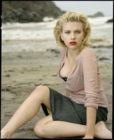 Scarlett Johansson by Annie Liebovitz