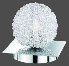 5932 - TRIO - stolová dotyková lampa - chróm-hliník
