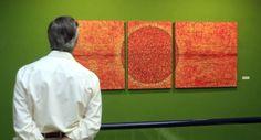Exposición de Gonzalo Páramo en la Fundación Díaz Caneja de Palencia Abstract