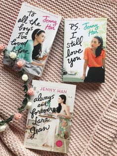 To All the Boys I've Loved Before Series by Jenny Han Bookstagram inspiration -dice por y para siempre, Best Books To Read, Ya Books, Book Club Books, I Love Books, Book Lists, Good Books, Book Series, Series Movies, Lara Jean