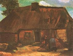 Vincent van Gogh: The Paintings (Cottage with Peasant Woman Digging)