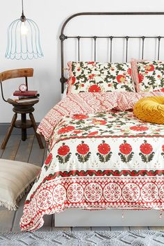 Magical Thinking Palace Floral Duvet Cover #urbanoutfitters