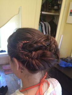 We are heading to the Delaware River to get our weiner raft on a.k.a. lazy tubing. My Jammy Sammy needed a river braid.