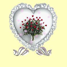 Resultado de imagem para the roses and heart animation gif Glitter Globes, Glitter Gif, Glitter Hearts, Snow Globes, Hearts And Roses, Red Roses, Heart Graphics, Heart Gif, Cute Fairy