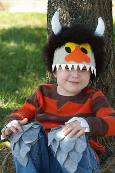 Where the Wild things Are monster mask this one is a great semi costume for Vika!