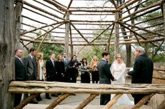 a wedding in Cop Cot, Central Park