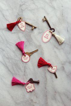 """Key to My Heart"" DIY Valentine"