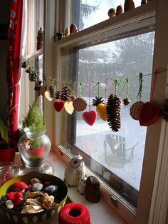 weihnachtsdeko-fenster-plätzchen-fensterdeko-weihnachten