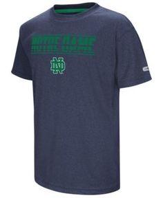 Colosseum Notre Dame Fighting Irish Head Start T-Shirt, Big Boys (8-20) - Blue L
