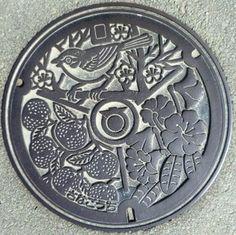 Manhole Cover Art Tokushima