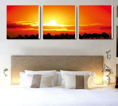 Quadro moderno per la camera letto n.11 Bed Pillows, Pillow Cases, Tapestry, Painting, Design, Home Decor, Art, Frames, Fabrics