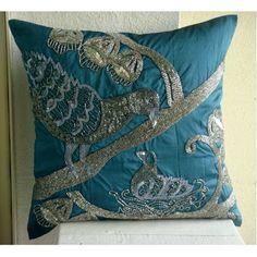Designer Blue Throw Pillow Covers, Beaded Bird Theme Thro... https://www.amazon.com/dp/B0088ISI3W/ref=cm_sw_r_pi_dp_x_Y7uqybKRA2PR1