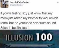 that is smart af | TrendUso #lazy #laziness #vacuum #illusion #deception #witty #clever #smart #clean #cleaning #bed #bedroom #relatable #funny #hilarious #humor #humorous #humour #meme #memes #memesdaily #lol #wtf #omg #rofl #haha #hahaha #smh