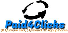 Paid4Clicks Logo