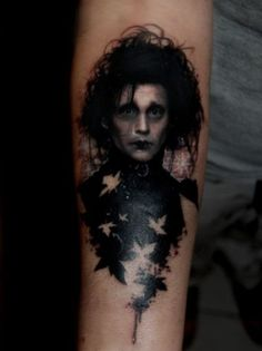 One of the best portrait tattoos I've ever seen. Props to the artist for their mad skills.