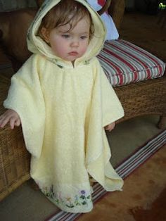 Cheaper by the Dozen and Get One Free: Annys Kreative Kidstuff Ideas--Toddler Hooded Towel Tutorial