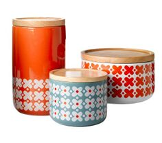 General Eclectic canisters - floral