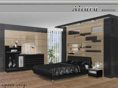 The Sims Resource: Altara Bedroom by NynaeveDesign • Sims 4 Downloads