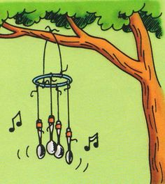 Sound Projects Using Wind Chimes