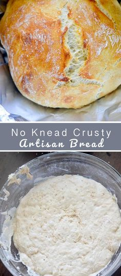 No-Knead Crusty Artisan Bread – Recipe Diaries - bread recipes homemade No Bread Diet, Best Keto Bread, Coconut Flour Bread, Almond Flour Recipes, Almond Meal, Bread Flour Recipes, Sugar Bread, Pancake Recipes, Almond Butter
