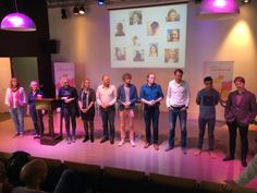 The ten idea owners who will lead the teams from Holland