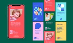 Isis Bacelar - Identity on Behance Corporate Event Design, Event Branding, Corporate Branding, Kids Branding, Identity Branding, Web Design, Post Design, Graphic Design, Homepage Design