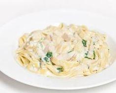 One pot pasta au poulet et sauce au fromage