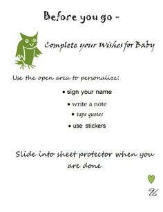 Attempting Agape: Adoption Shower Activity: Wishes for Baby