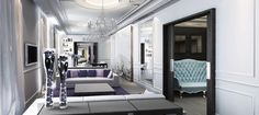 The majestic InterContinental Marseille – Hotel Dieu - Adelto Intercontinental Hotels Group, French Art, Terrace, Photo Galleries, France, Interior, Furniture, Luxury Hotels, Design
