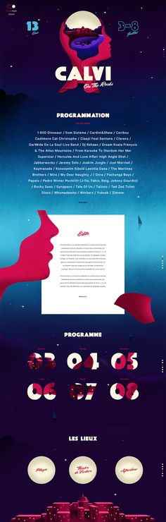 calvi on the Rocks édition 2015 graphisme paris