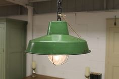 A fantastic take on a vintage hanging light. This extremely fashionable hanging light would be ideal for pubs, clubs, restaurants, kitchen or dining use in any contemporary interior. These lights have all been professionally wired and tested in the UK and are ready to use. - See more at: http://www.peppermillantiques.com/vintage-style-hanging-light-industrial-style/#sthash.4IRPKH1F.dpuf