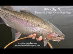 ▶ Balanced Leech Olive Pumpkin - Phil Rowley YouTube