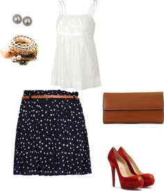 """Sencillo y Chic..."" by anakari on Polyvore"
