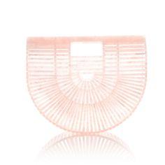 Small Acrylic Ark Bag | Moda Operandi ($370) ❤ liked on Polyvore featuring bags, handbags, foldable bag, fold over purse, foldover handbags, lucite handbags and fold over handbag