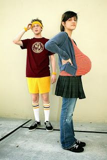 funny halloween costumes couples costume ideas pregnant costume ideas Juno