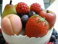 marzipan fruit - Google Search