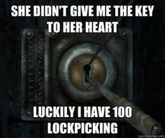 Haha I love this!! The fact that its Skyrim logic makes it even better!!