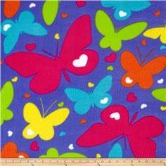 Simply Rainbow Butterflies Purple/Multi