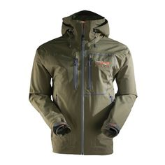 Sitka Gear Men's Stormfront Rain Jacket, Forest Green , X-Large at http://suliaszone.com/sitka-gear-mens-stormfront-rain-jacket-forest-green-x-large/