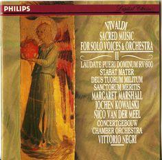 Vivaldi Sacred Music For Solo Voices & Orchestra Vol 2 Vittorio Negri