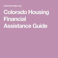 Colorado Housing Financial Assistance Guide
