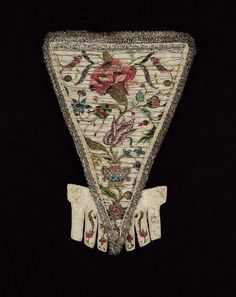 Stomacher  Probably American, 1747   United States  Dimensions  32.2 x 22 cm (12 11/16 x 8 11/16 in. )