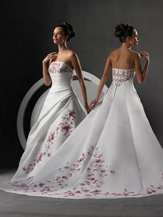 pictures of spring wedding dresses