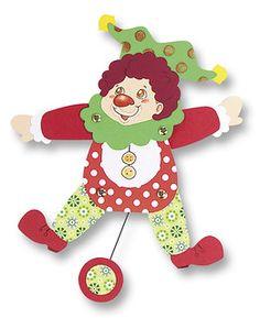 1935_Basteltrends_Zirkus_Hampelmann   Max Bringmann   Flickr Trends, Jumping Jacks, Christmas Ornaments, Holiday Decor, Home Decor, Crafting, Decoration Home, Room Decor, Christmas Jewelry