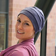 Cotton 3 Seam Turbans. The classic cotton turban for cancer patients gets an upgrade with high-quality interlock fabric and a variety of colors to compliment any outfit.