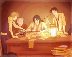 Oh I would love a story about the marauders! I can never get enough of them.