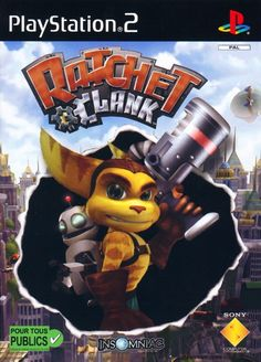 Ratchet & Clank Box Shot for PlayStation 2 Playstation 2, Xbox, V Games, Best Games, Games To Play, Video Games, Juegos Ps2, Childhood Games, Childhood Memories