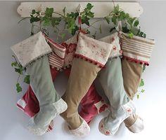 sweet vintage inspired stockings