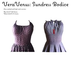 The   Vintage   Pattern   Files: 1950's Sewing - Sundress Bodice
