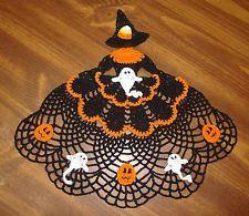 "free+crocheted+croniline+Halloween+lady+pattern | ... similar to ""Handmade Crocheted Glinda the Good Witch Crinoline Doily"